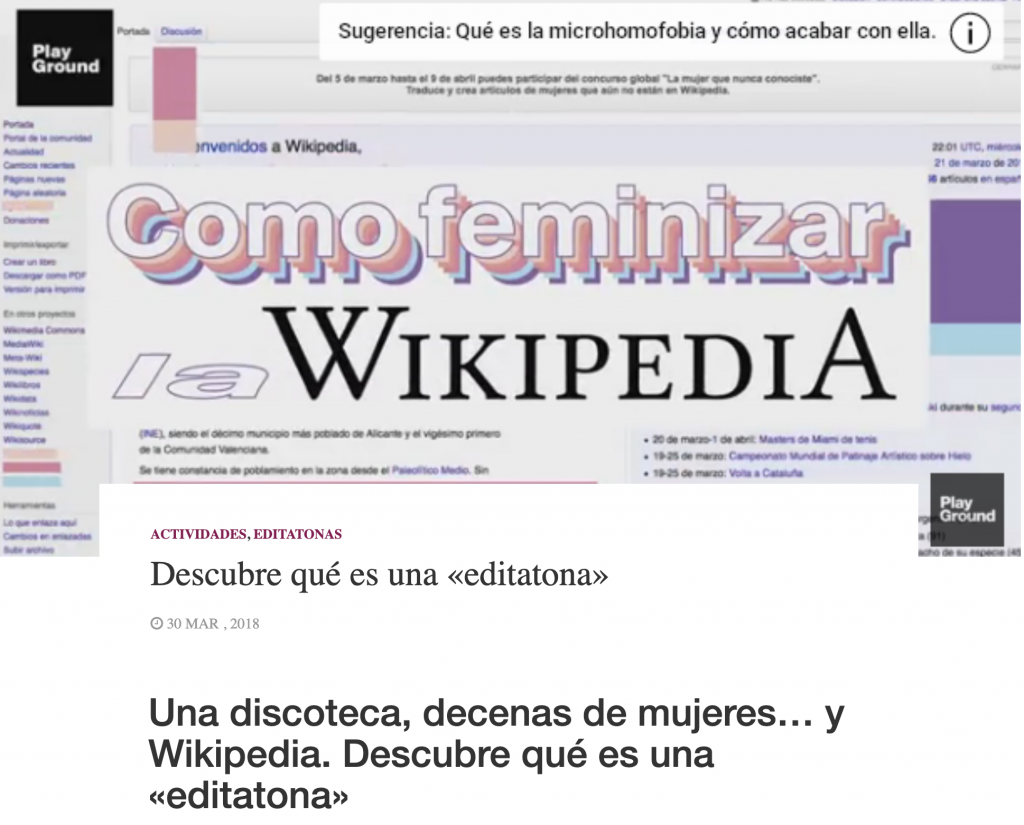Editatona Wikimujeres